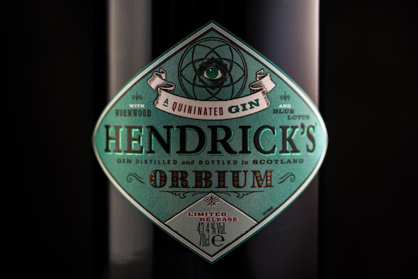 Hendrick's Orbium Gin - Zoom In