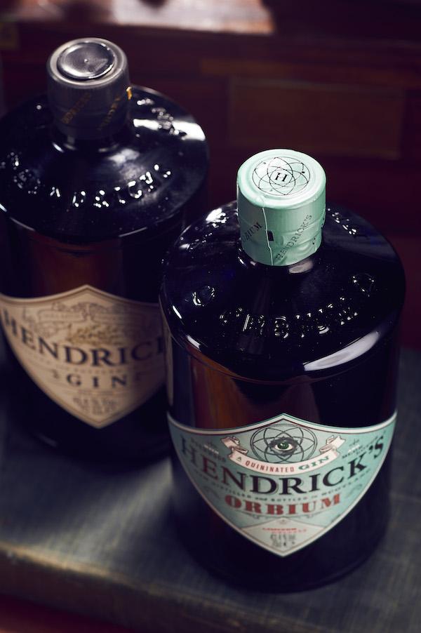 Gin Hendrick's Orbium vs Hendrick's Gin