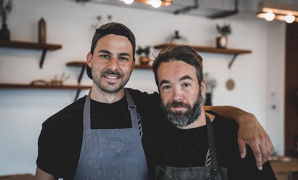 Seth Gabrielse et Julien Roy