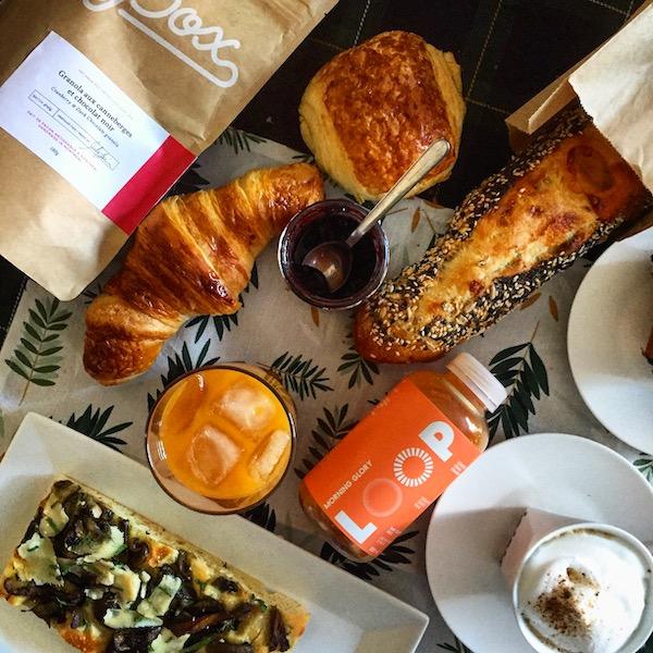 Table de Pâques - Automne Boulangerie