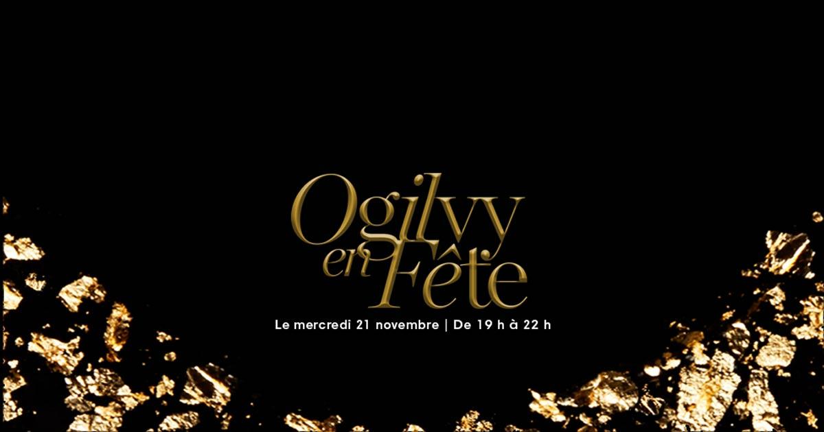 Ogilvy en fête 2018 - couverture