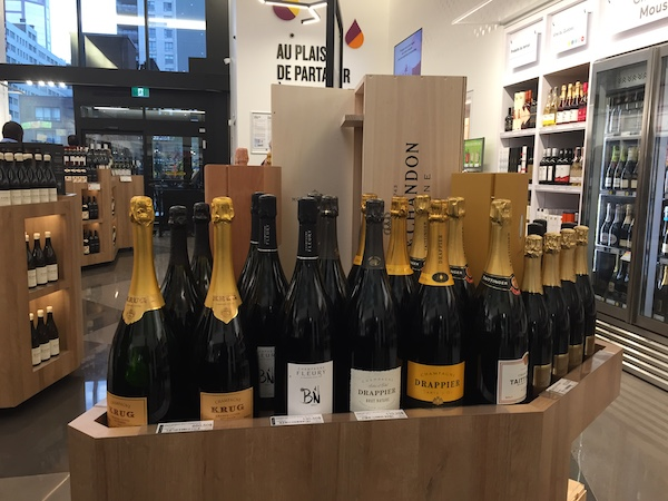 SAQ Selection Golden Square Mile - Champagnes
