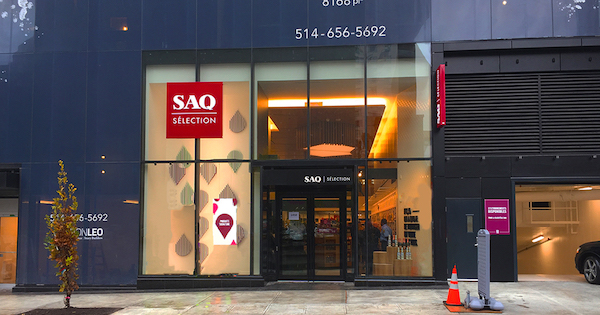 SAQ Selection Golden Square Mile - Entrance