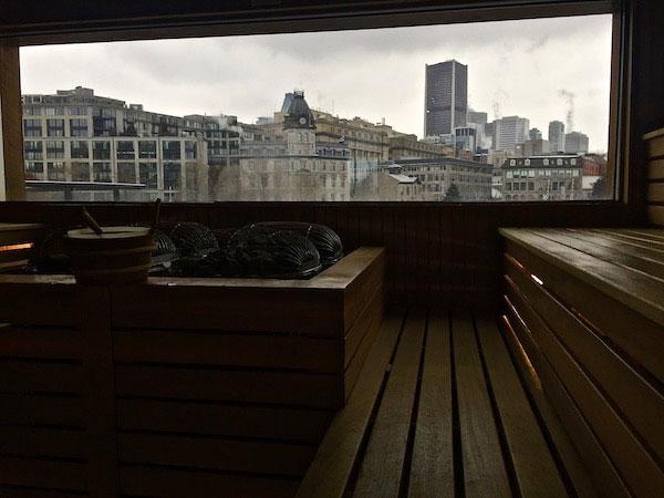 Bota Bota en Hiver - Sauna