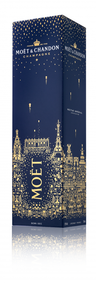 Top spirits and wines for Holidays - Moët Chandon -Nectar Imperial