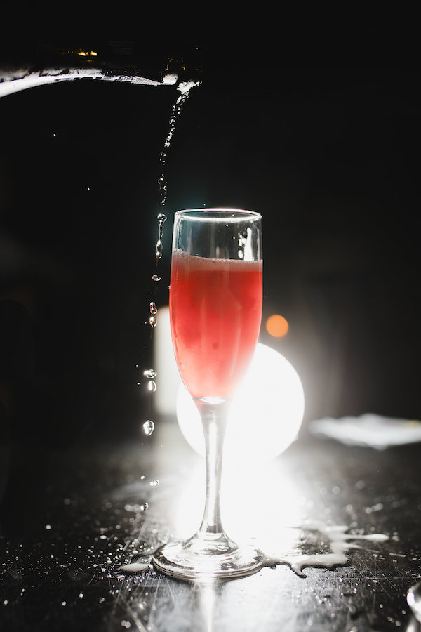 FIOL Hibiscus cocktail