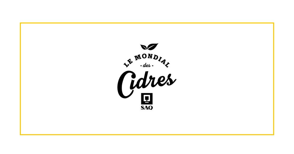 Mondial des Cidres SAQ 2019 Edition- Cover