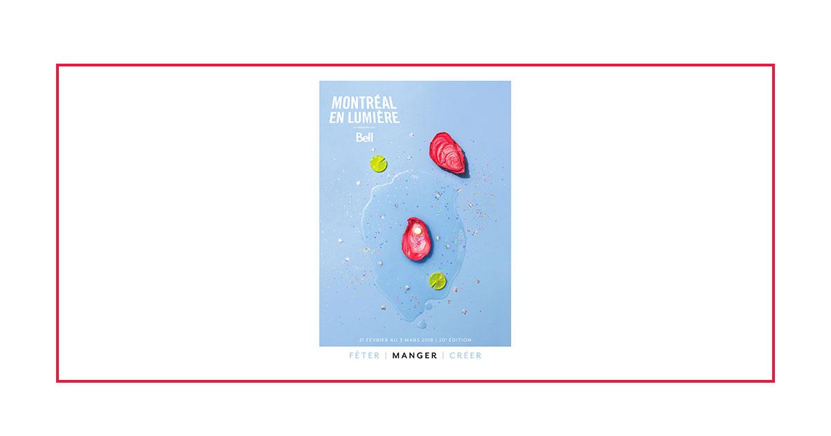Montréal en Lumière 2019 Edition - Cover