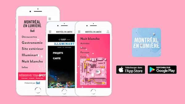 Montréal en Lumière Mobile App