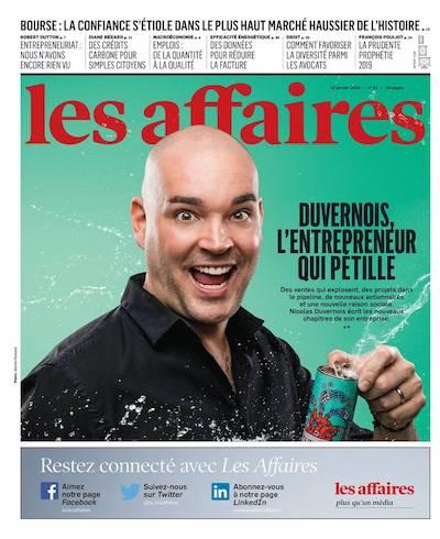 Nicolas Duvernois - Les Affaires Magazine