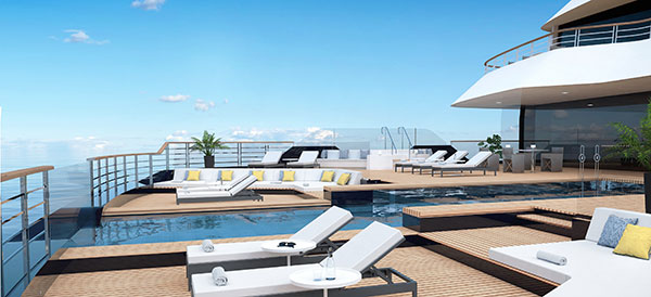 The Ritz-Carlton Yacht Collection - Main Pool Deck