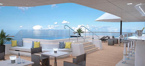 The Ritz-Carlton Yacht Collection - Outdoor Grill Bar