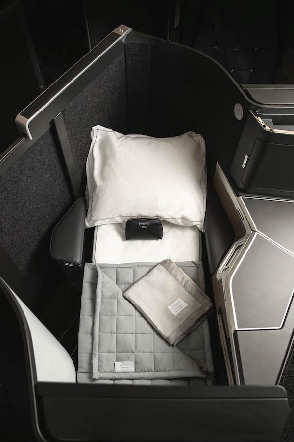 La Suite Club de British Airways - Lit