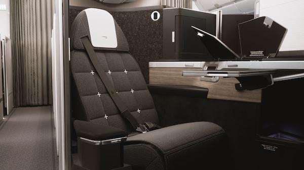 La Suite Club de British Airways - Travail