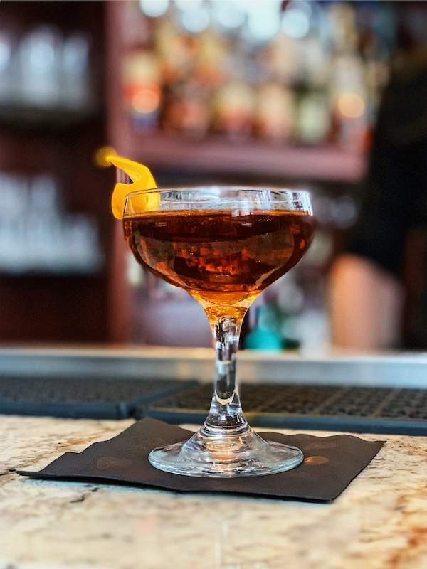 Le Jennings de Bastien Rémillieux du El Pequeño - cocktail