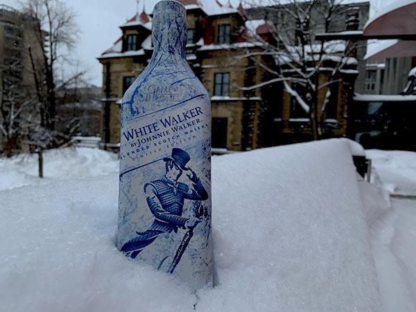 White Walker by Johnnie Walker - Bottle - Castle