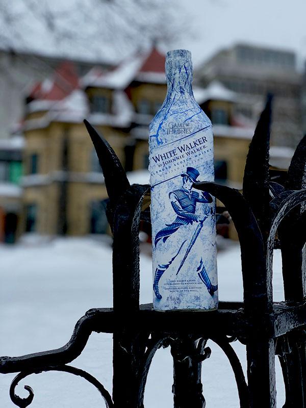 White Walker by Johnnie Walker - Bottle - Fence