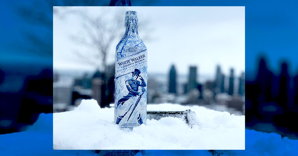 White Walker by Johnnie Walker - Cover