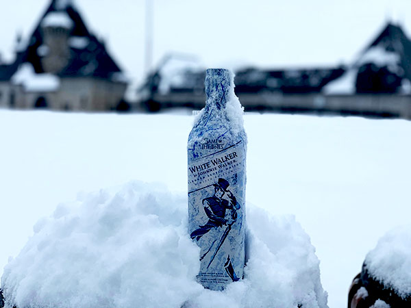 White Walker par Johnnie Walker - Bouteille - McGill