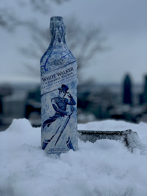 White Walker par Johnnie Walker - Bouteille - Montreal - Mont-Royal