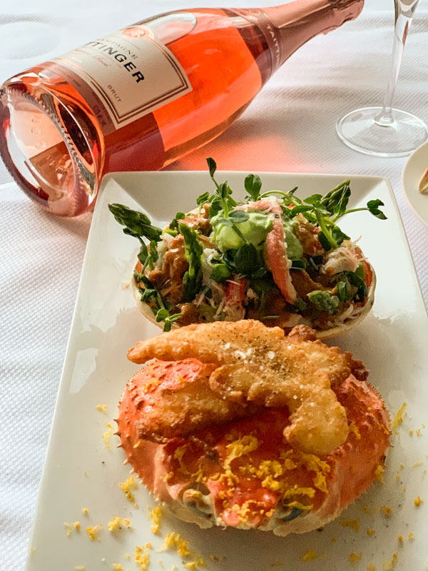 Quebec Snow Crab and Sea Urchin Salad by Grégory Faye - Focus