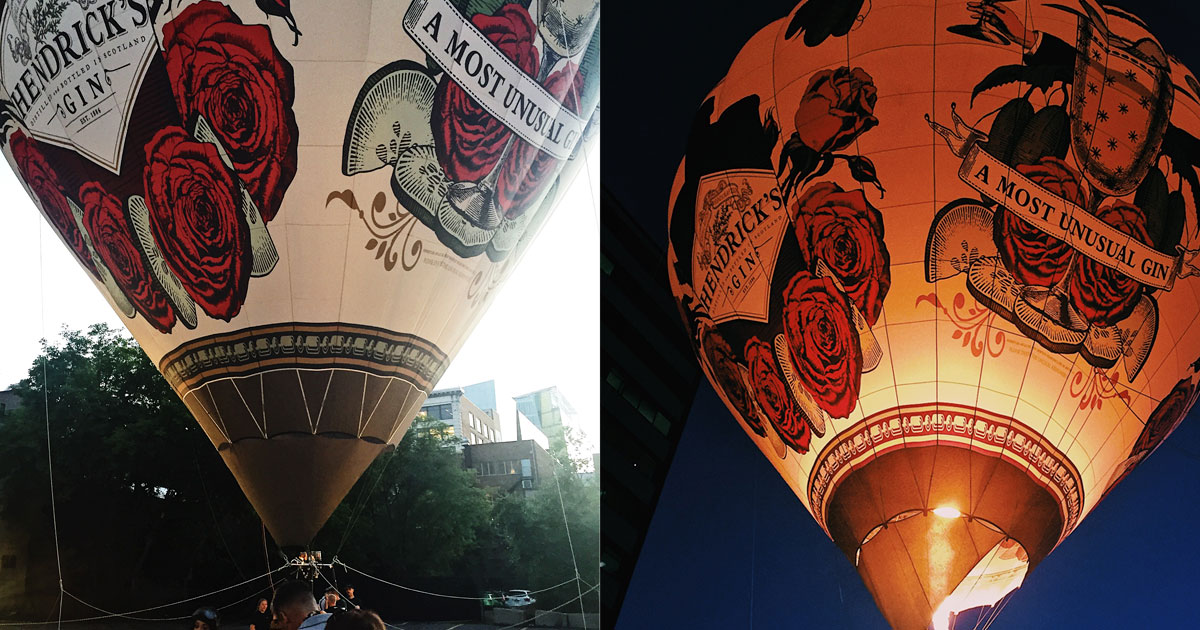 Survolez Montréal avec le Gin Hendricks - Couverture
