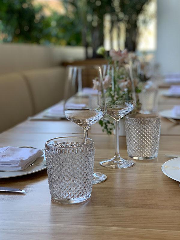 Four Seasons Hôtel Montréal - Table