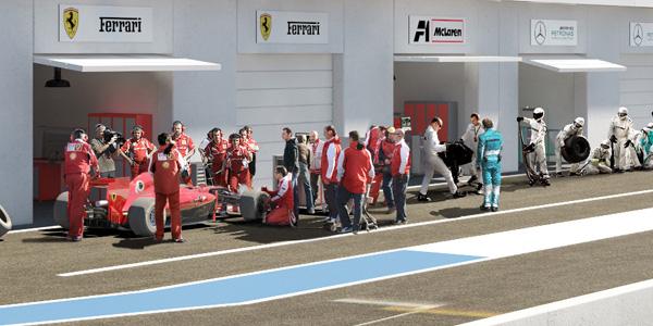 Garage des Équipes - Paddocks Fomula 1 Grand Prix du Canada