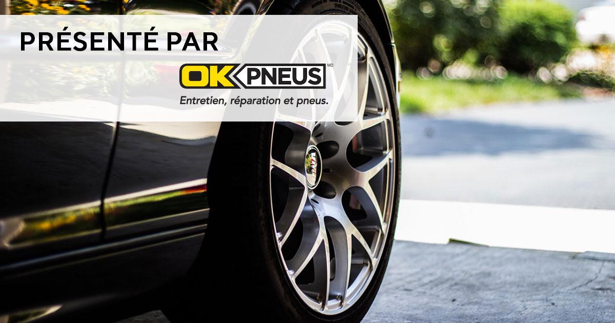 Les pneus de F1 et de route - OK PNEUS