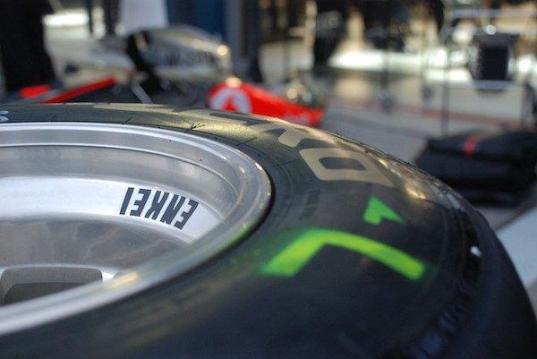 Pneus de F1