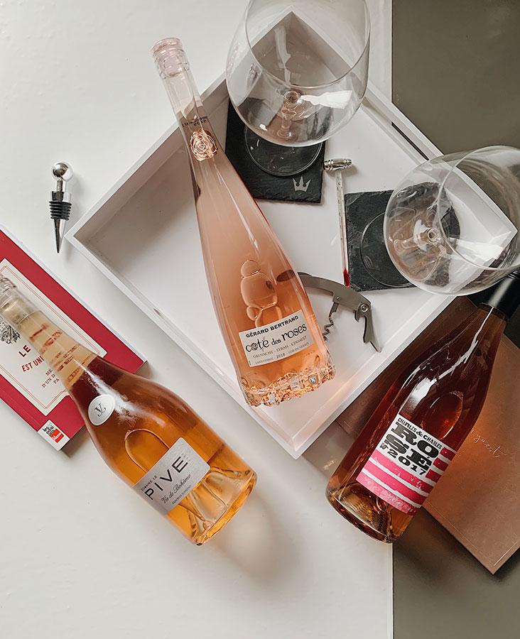 Spring Rosés - wines