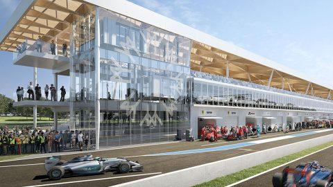 The Espace Paddock of Formula 1 Grand Prix du Canada