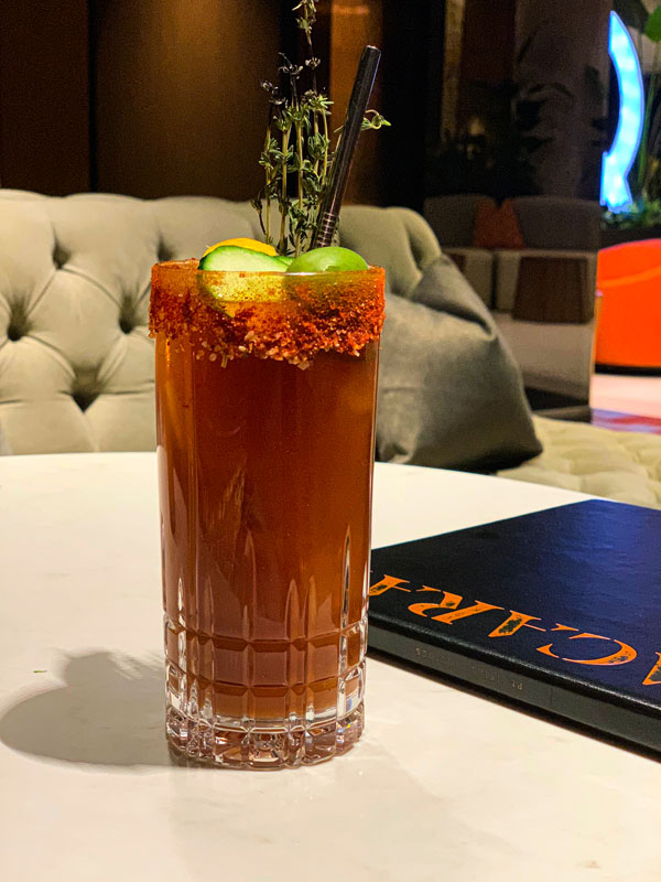 The Nacarat Caesar by Isaac Bédard of the Nacarat of The Fairmont The Queen Elizabeth Photo: Normand Boulanger | RDPMAG
