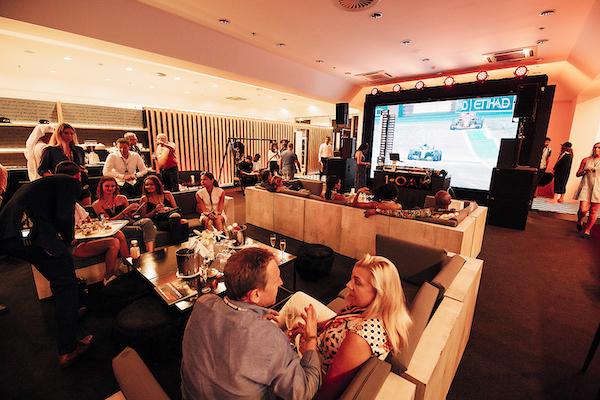 1 OAKF1 Paddock Club - TV Credit: F1-OAK Paddock Club