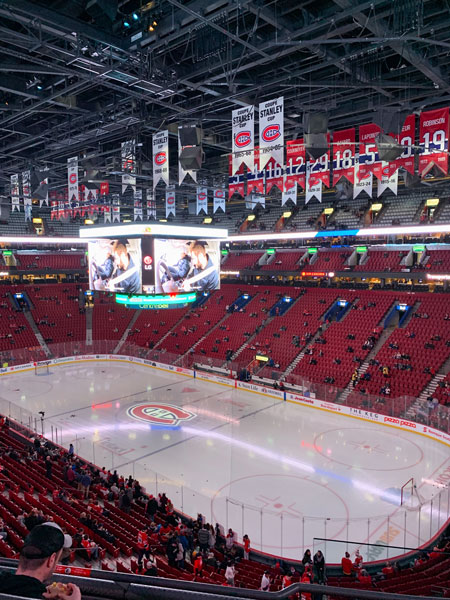 Ford Edge and the history of hockey in Montreal - Bell Centre Game Credit: Normand Boulanger | RDPMAG