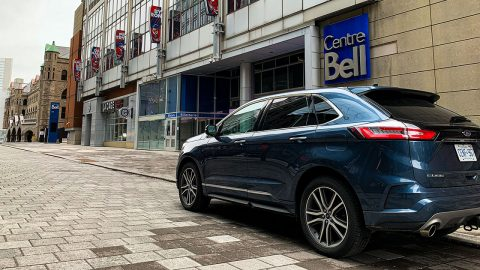 The Ford Edge and the history of hockey in Montreal