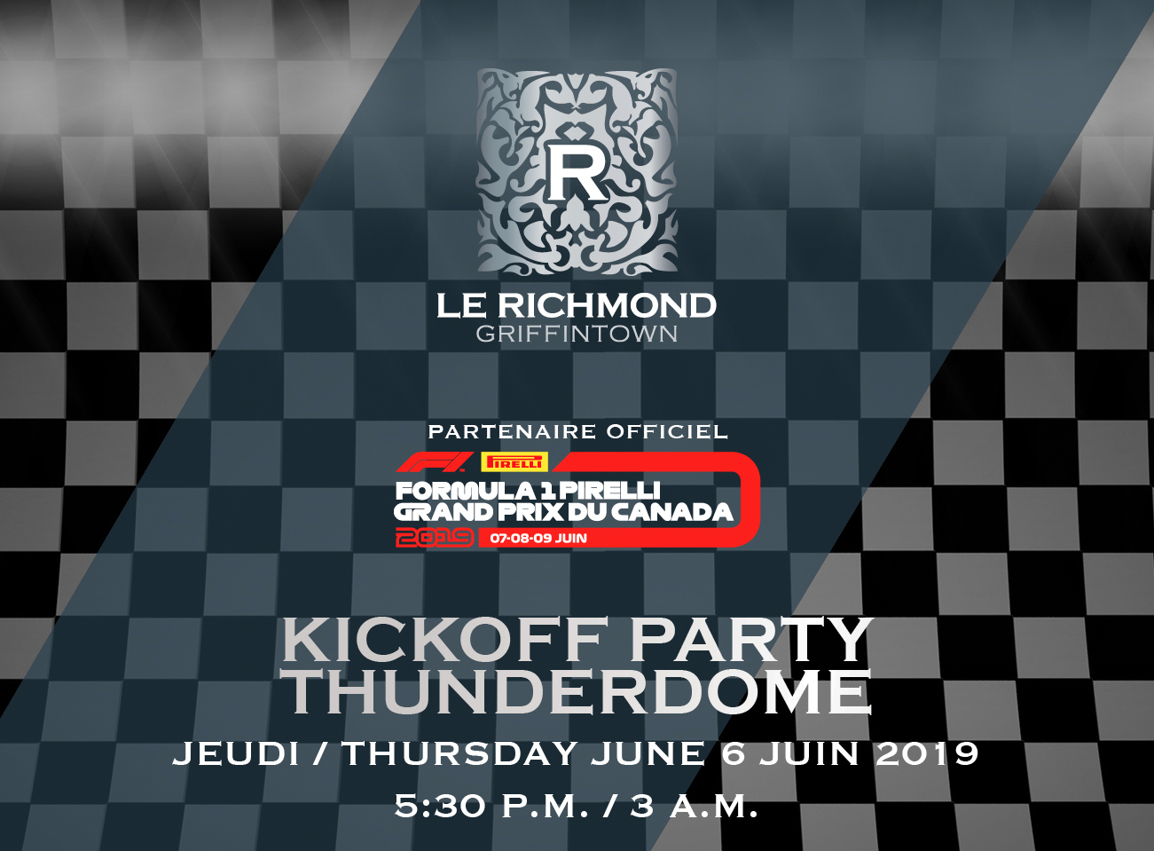 Kickoff Party Richmond Grand Prix 2019 Edition