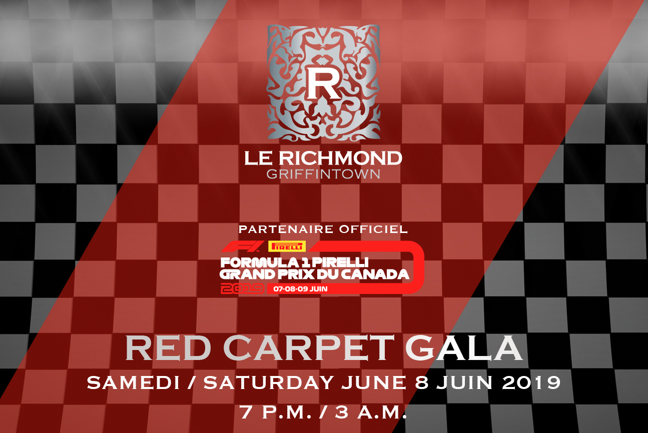 Red carpet Gala Richmond Grand Prix 2019 Edition