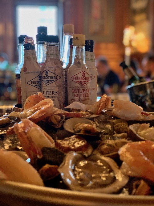 Seafood Platter - The Mount Stephen and Bar george