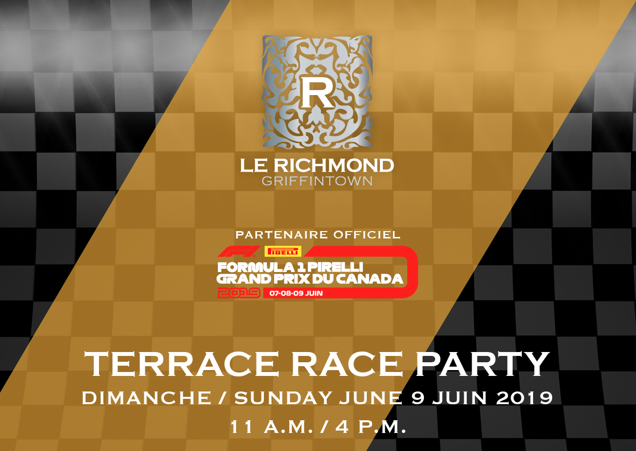 Terrace Race Party Richmond Grand Prix 2019 Edition