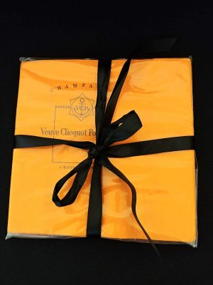 Serviettes de tables Veuve Clicquot Ponsardin