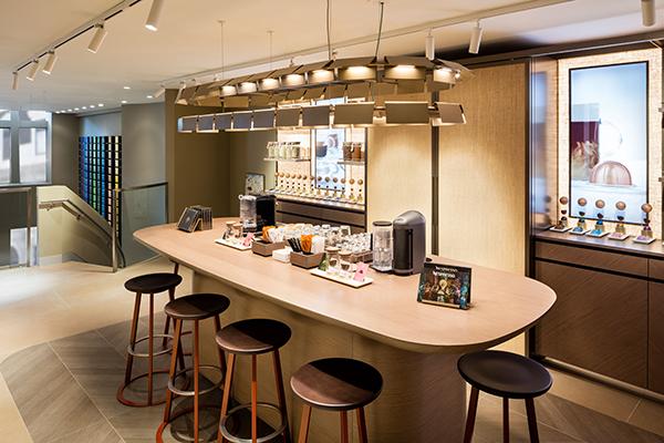 L'espace Atelier Crédit: Nespresso