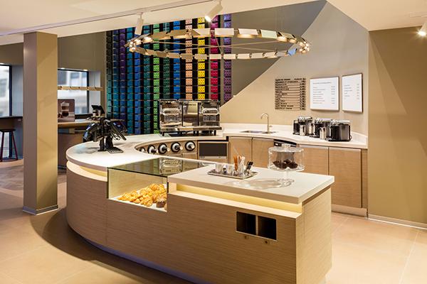 Espace Café à emporter Crédit: Nespresso