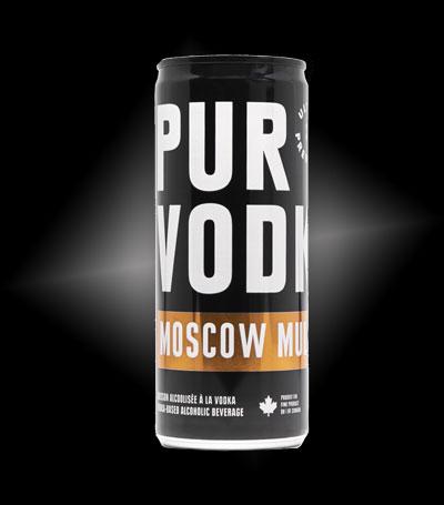 Moscow Mule PUR Vodka - EN