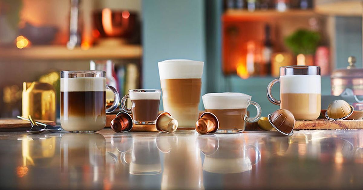 Nespresso Barista Creations : The love of coffee and milk