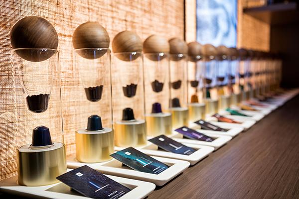 Nespresso Crescent Boutique - Sensory discovery