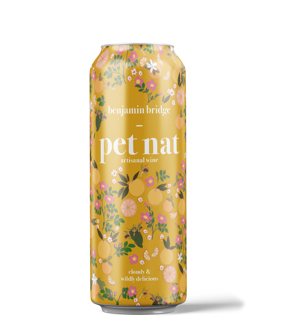 Pet Nat can by Benjamin Bridge