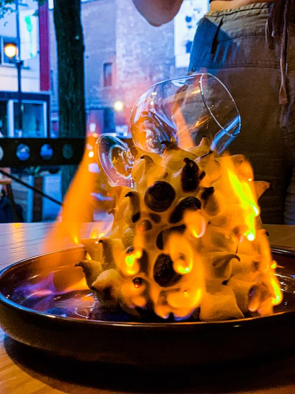 Ratafia dessert bar - La Bombe