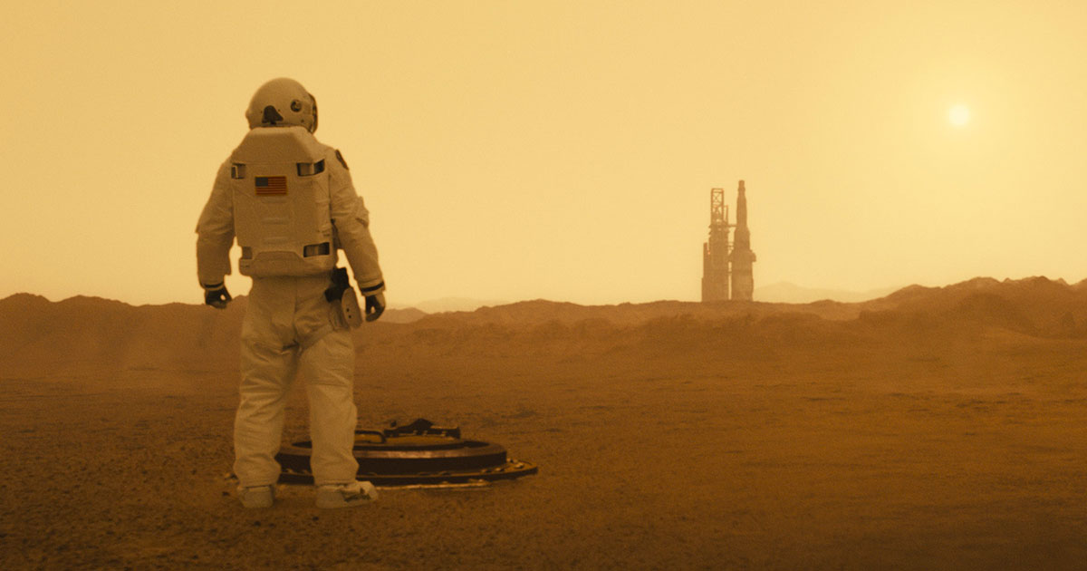 Ad Astra - Astronaute Mars