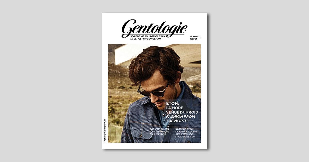 First Issue of Gentologie Magazine